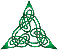 Triangular Celtic Symbol